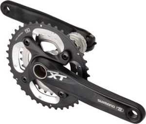 Shimano XT M785 10-Speed 175mm 28/40 Crankset with Bottom Bracket