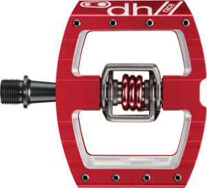 Crank Bros Mallet DH Race Pedal Red