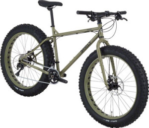 Surly Pug Ops Bike MD Canvas Green Fat Bike