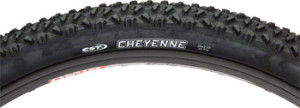 CST Cheyenne Tire 26x2.10 Black Steel Bead