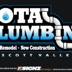 TOTAL PLUMBING MAG SIGN ONLY 11 X 21